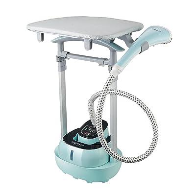 Aigostar Mint 31JHJ – Défroisseur vapeur vertical. 2000 W, chauffe rapide et grand réservoir. Inclus table de repassage horizontal, brosse, gants et tiges télescopiques pour faciliter le repassage.