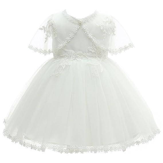 AHAHA Baby Girl Princess Wedding Dresses Baptism Christening Dresses Baby Grils Baby Birthday Party Dress