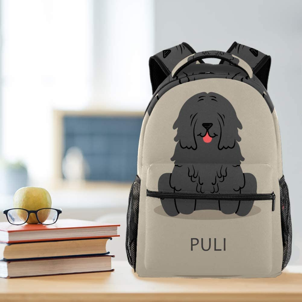 Funny Dog Pull PoopTravel Laptop Backpack Casual Durable Backpack Daypacks for Men Women for Work Office College Students Business Travel Schoolbag Bookbag