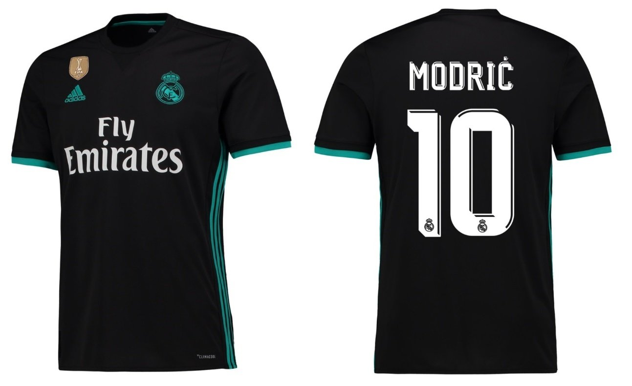 Trikot Kinder Real Madrid 2017-2018 Away WC - Modric 10
