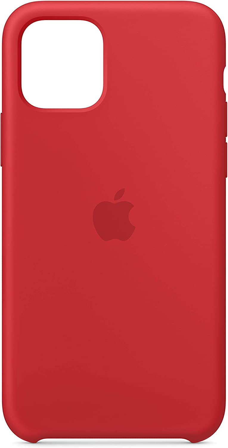 Apple Silicone Case (for iPhone 11 Pro) - (Product) RED