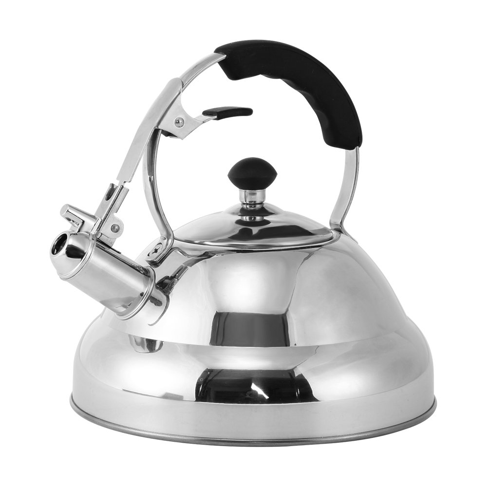 Stainless Steel Tea Kettle - Stovetop Whistling Tea Pot for Teas, Coffee - 3L Juvale SYNCHKG072850