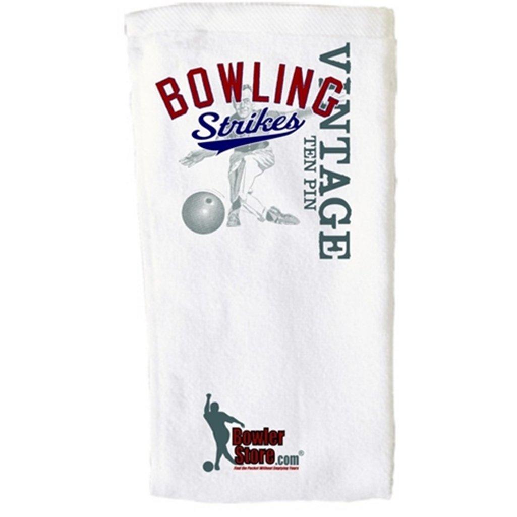 Bowling StrikesヴィンテージBowlingタオル B0050YFZ3S
