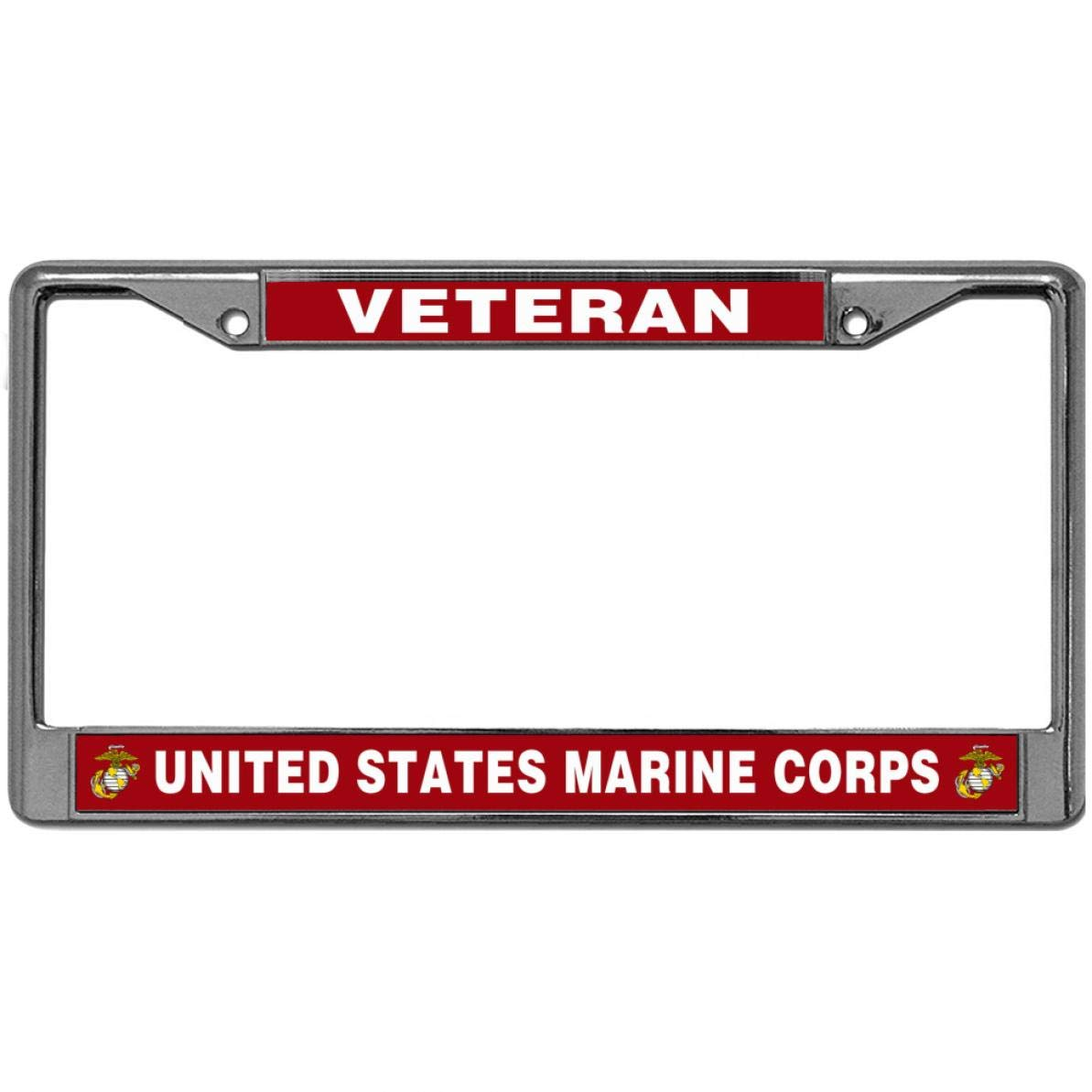 United States Marine Corps License Plate Frame Tag Holder