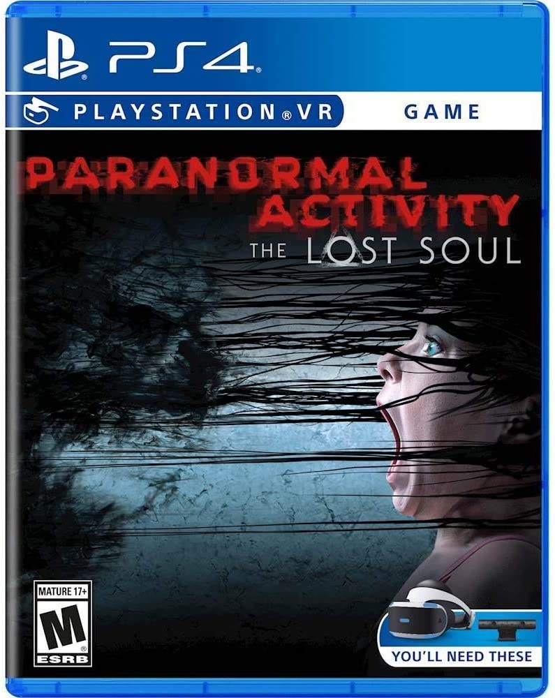 Amazon Com Paranormal Activity The Lost Soul Vr Ps4 Video Games