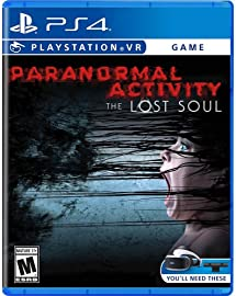 Amazon Com Paranormal Activity The Lost Soul Vr Ps4 Video