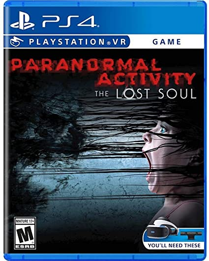 1ac37e93d8fd2 Amazon.com  Paranormal Activity  The Lost Soul (VR) - PS4 ...