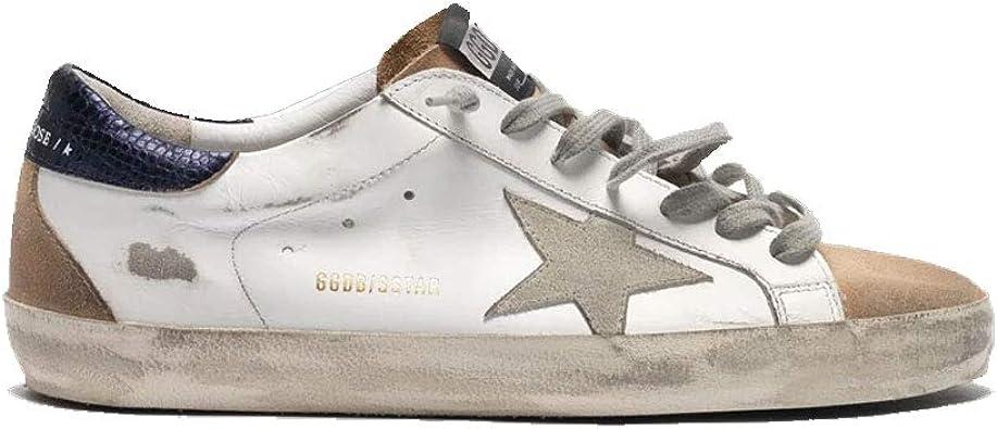 Superstar White/Brown Suede Star