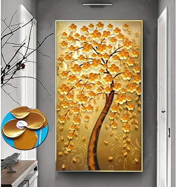 baodanla (sin Marco) árbol Rico decoración de la Sala Pintura ...