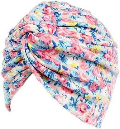 Fossrn Gorro Sombrero Pañuelo Turbante Mujer Cabeza para Càncer ...