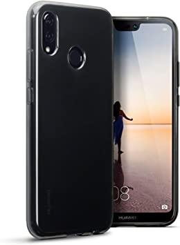TERRAPIN Funda Huawei P20 Lite Protectiva de Silicona Gel TPU ...