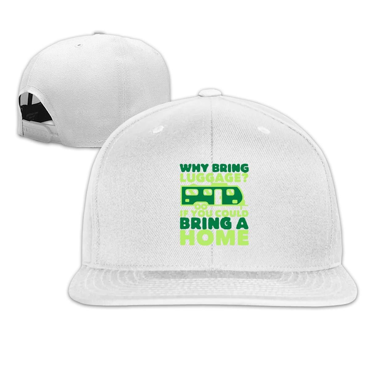 2048b6de518 Amazon.com  Mens Baseball Hats-Funny Trailer Home Snapback Caps for  Men