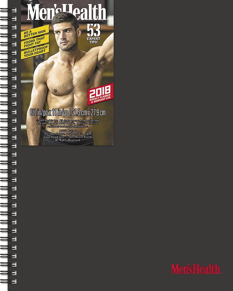 Men's Health Weekly/Monthly Poly Planner (2018)