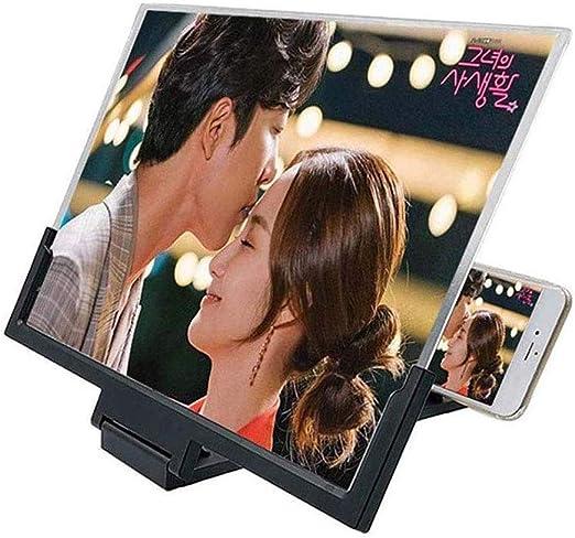 Inteligente Amplificador de Pantalla Tel/éfono de con Zoom de 3 a 5 Veces para Todos Los Tel/éfonos Inteligentes XINXIN 14 3D Lupa de Pantalla de Tel/éfono M/óvil