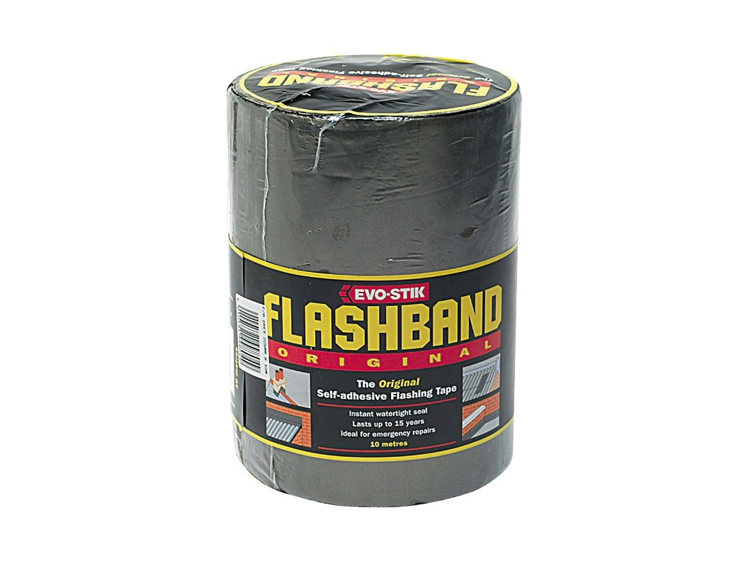 Evo Stik Roll Grey Flashband 75mm X 10m 200005 5010591115217 Adhesives and Fillers Fixings and Hardware Items Grey Flashbands