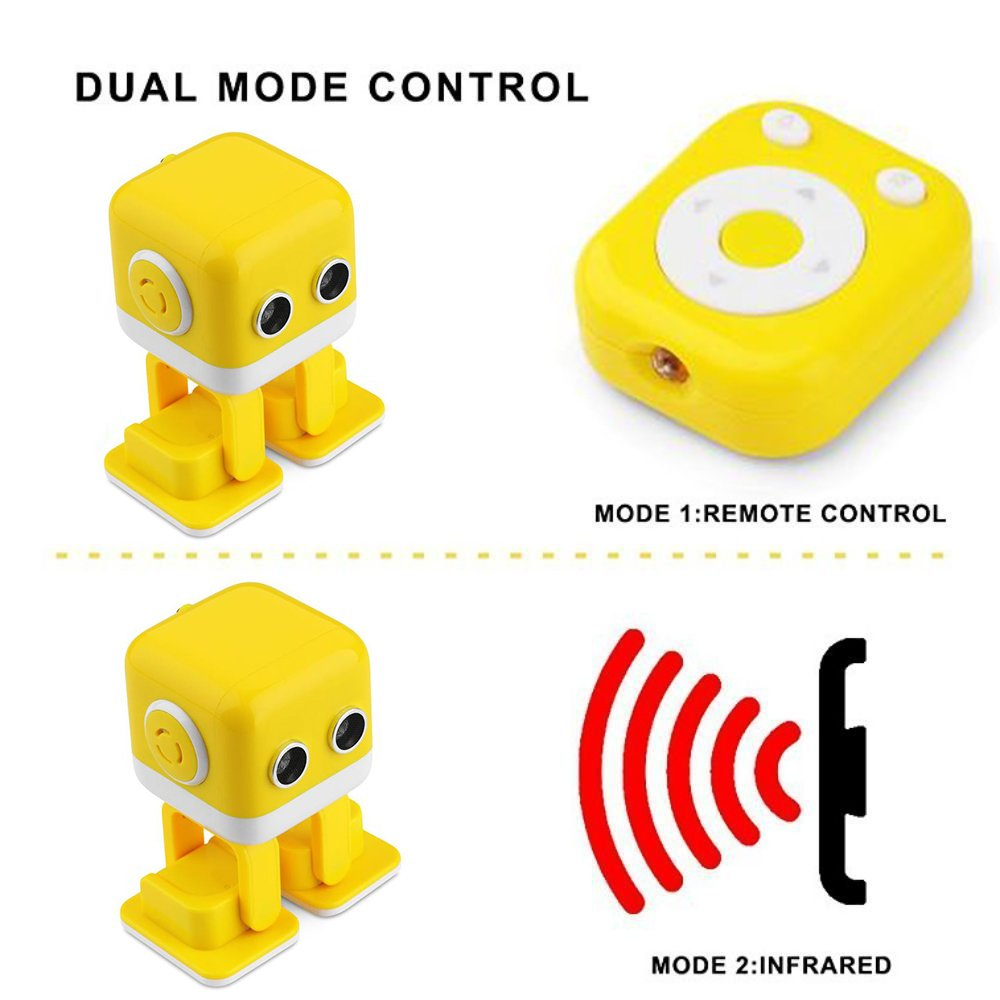 WomToy Remote Control Robots for Kids, Electronic Smart Robot for Learning Entertainment Infrared Induction APP Programming Learning Intelligent Entertainment Robot Toys Telling Stories (95-1) by WomToy (Image #5)
