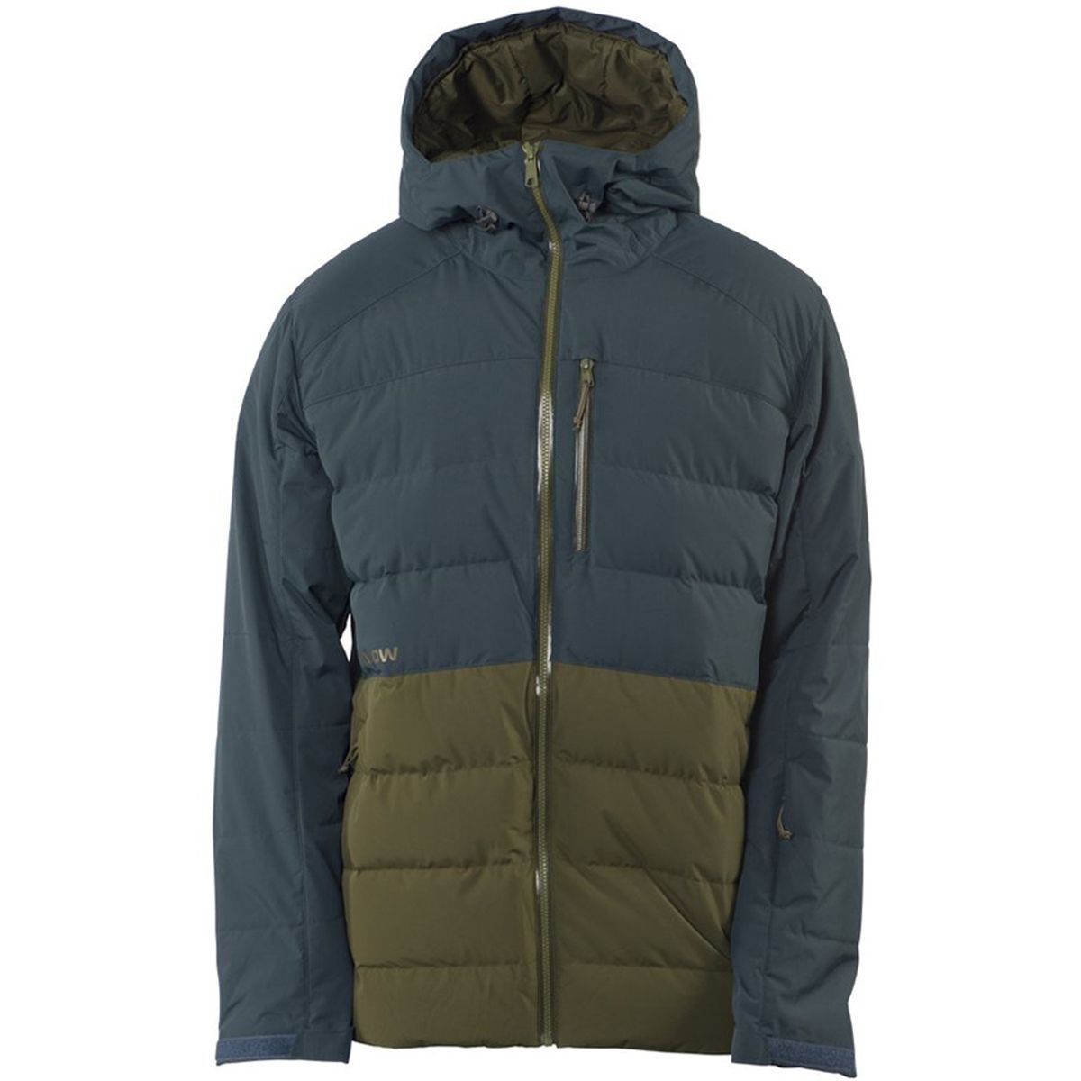 Flylow Gear Colt Down Jacket – Men 's Neptune / Army , M B075LNGXW6