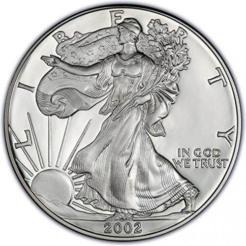 2002 American Silver Eagle 1 dollar Brilliant Uncirculated