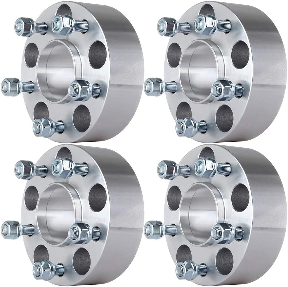 ECCPP 4X 3 Hubcentric Wheel Spacers 5 Lug 5x4.75 to 5x4.75 Compatible with Chevrolet Blazer Chevrolet Camaro Chevrolet S10 12x1.5 Studs