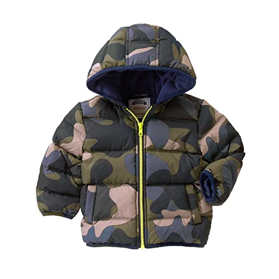 73017bbed Gymboree Boys  Down Puffer Jacket  Amazon.in  Clothing   Accessories