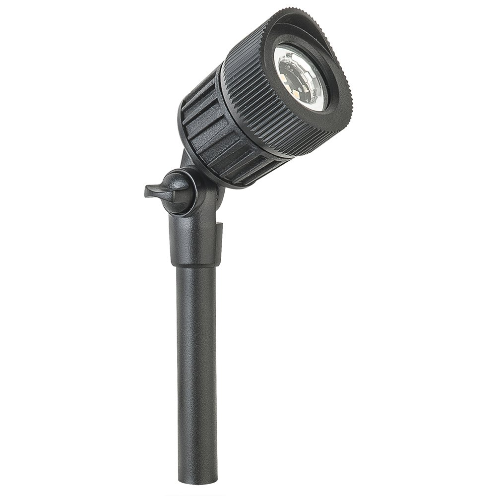 Paradise by Sterno Home Low Voltage LED Micro Spot Light,Adjustable, Black