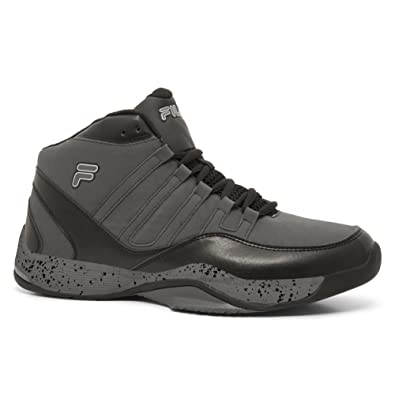 578fb3617bd Amazon.com | Fila Men's Sweeper 4 Lightweight Athletic Sneakers, Grey,  Rubber, Mesh, 11.5 M | Basketball