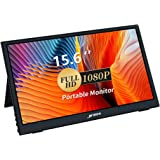 Portable Monitor - 15.6 Inch USB Type-C Computer Display with Full HD 1080P, IPS Eye Care Screen Gaming Monitor with Mini HDM