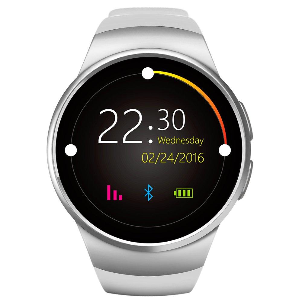kingwear KW18 Smartwatch teléfono esfera redonda MTK2502 ...