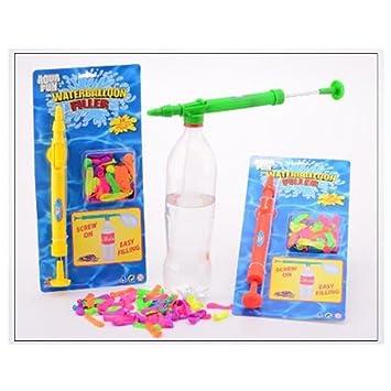 Johntoy 29479 Inflador de globos de agua con 50 globos