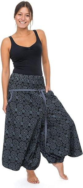 Sarouel Falda pantalón Pirata Fem -: Amazon.es: Ropa y accesorios