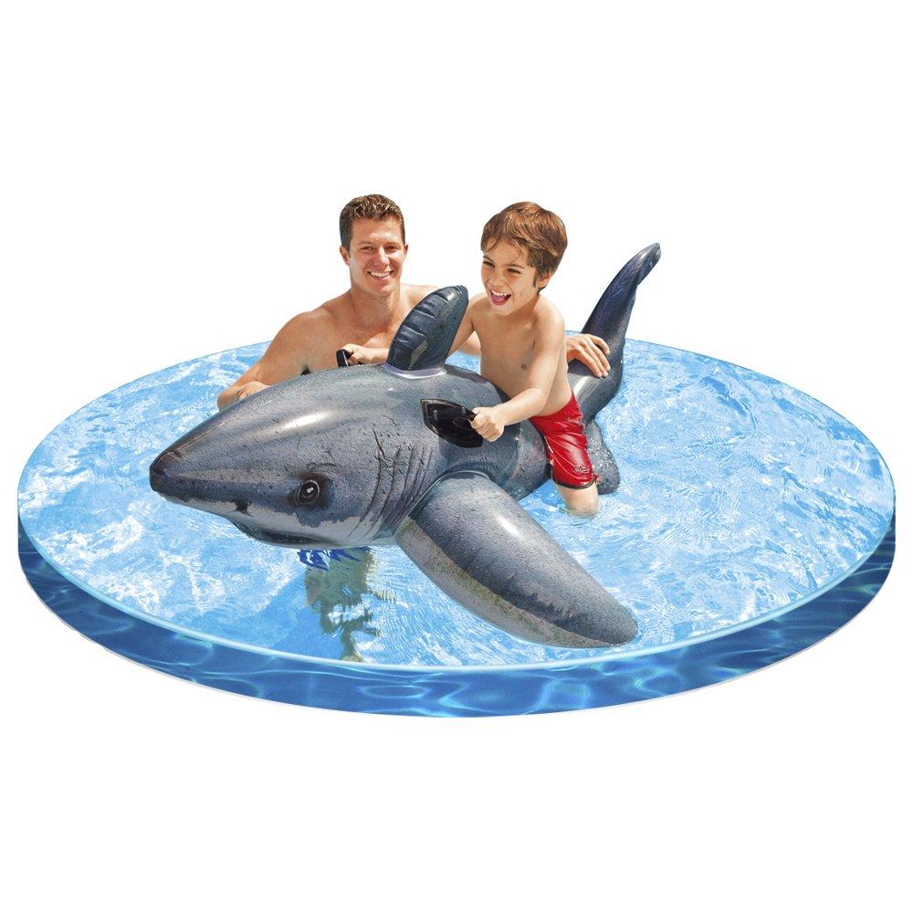 Colchoneta hinchable de tiburón INTEX por sólo 7,5€