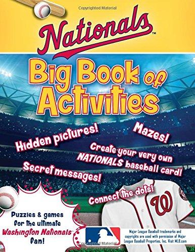 Peg Puzzle Book (Washington Nationals: The Big Book of Activities (Hawk's Nest Activity Books))