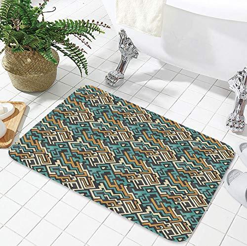 TecBillion Polyester Carpet,Geometric,for Meeting Room Dining Room,19.69