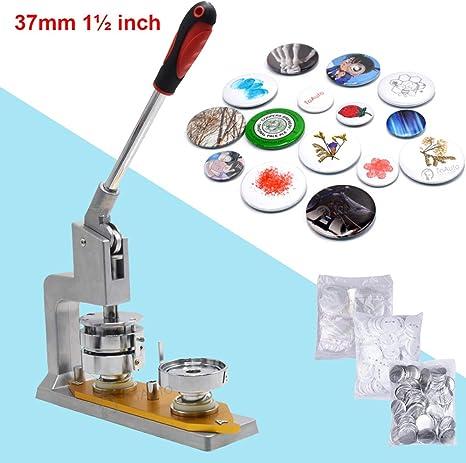Máquina para hacer botones + 300 piezas para hacer insignias de ...