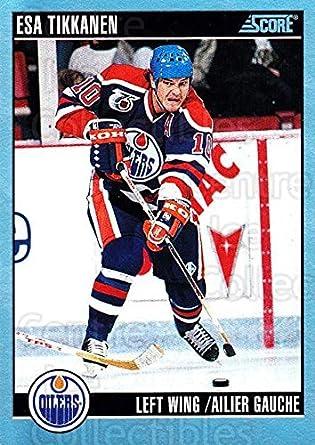 1a185eee6 Amazon.com  (CI) Esa Tikkanen Hockey Card 1992-93 Score Canadian ...