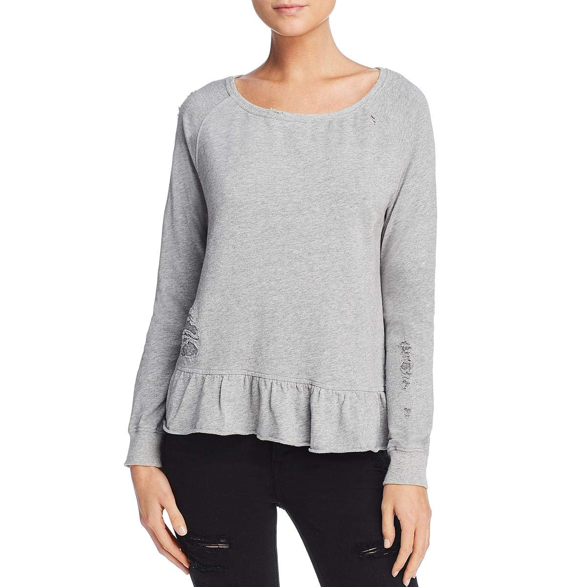 Pam /& Gela Ruffle Sweatshirt
