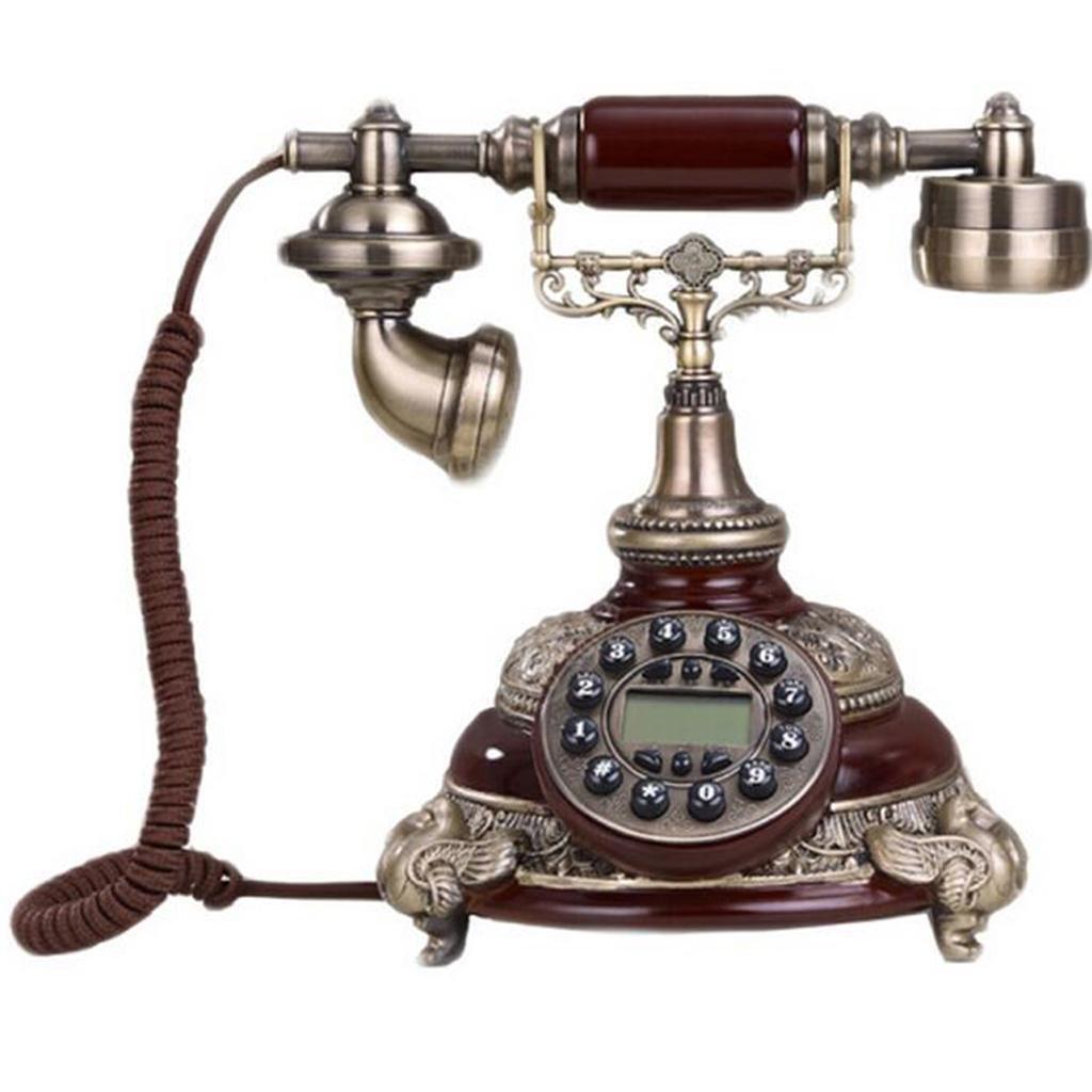 FADACAI Home Landline Phone Retro Creative Telephones Classical Phone , a