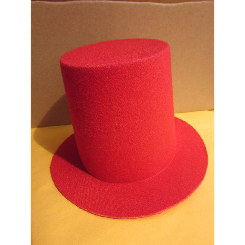 Mini Top Tall Hat for Women High Millinery Base DIY Craft Alligator Clips EVA Fascinator