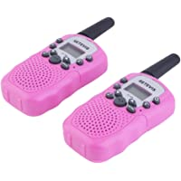 Hidream 2pcs RT-388 Walkie Talkie 0.5W 22CH Two Way Radio For Kids Girl Gift