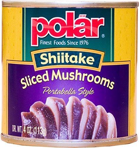 MW polar Sliced Shiitake Mushrooms, 4 Ounce