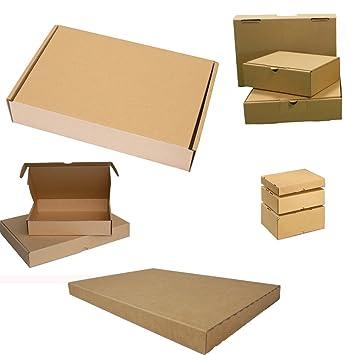 25 Stück Wellpapp-Faltkarton Großbrief Verpackung Faltpappe Pappkarton Versand