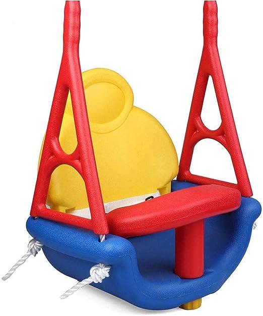 LIUJIE Tres-en-uno niños bebé Swing Interior y al Aire Libre Colgante Juguete Silla Juguetes de los niños de la casa Swing Kinder niño Trapecio balancín Asiento jardín balancín: Amazon.es: Hogar