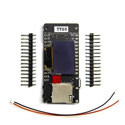 Amazon.com: TTGO T2 ESP32 0.95 OLED SD Card esp32 WiFi ...
