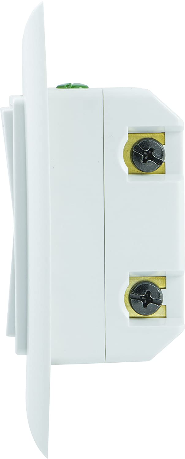 GE Z-Wave Plus Smart Lighting Control Light Switch, Paddle, On/Off, In-Wall, White & Light Almond Paddles, Repeater & Range Extender, Zwave Hub Required- Works with SmartThings Wink and Alexa, 14291 Jasco