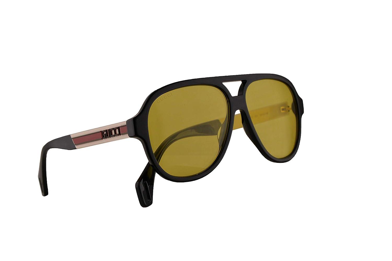 Amazon.com: Gucci GG0463S GG 0463S - Gafas de sol, lentes ...