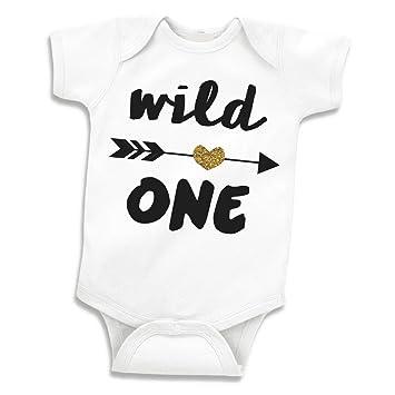 Girl First Birthday Shirt Wild One 12 18 Months