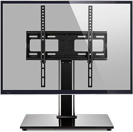 RFIVER Soporte TV de Mesa para Television Plana Curva de 27 a 55 Pulgadas con Giratorio y Altura Ajustable UT1002: Amazon.es: Electrónica