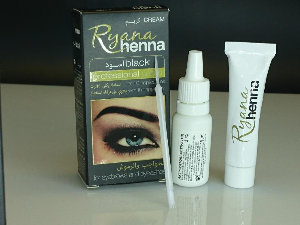 a572207b6 Buy Generic black eyebrow tint : Ryana Henna Natural Eyebrow Eyelash  Professional Color Tint Cream Kit, 15-minute Fast Tint Brown & Black  Available easy dye ...