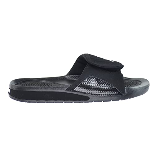 21e7f0b12358 Jordan Hydro 4 BG Big Kid s Sandals Black White Black 705171-010 (5 ...