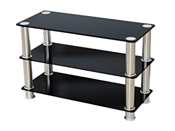 Premier Av Lt05 Slim Compact Glass Tv Stand For 42 Inch Led Lcd Tv